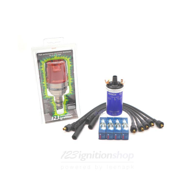 123/B18-B20-R-V-IE complete set met injectie