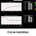 Curve instellen